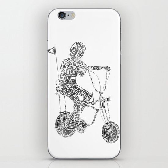 A boy's thing iPhone & iPod Skin