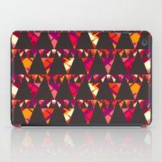 Vibrant triangles iPad Case