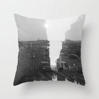 fashion quay Throw Pillow