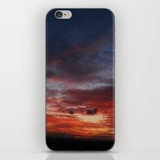 Burning Sky iPhone & iPod Skin