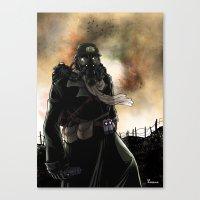 Le Dernier Survivant / T… Canvas Print