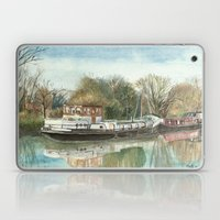 Rosa on the Grand Union Canal Laptop & iPad Skin