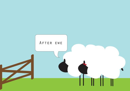 After Ewe Art Print