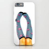 iPhone & iPod Case featuring Cozy Toes by Christine Leanne