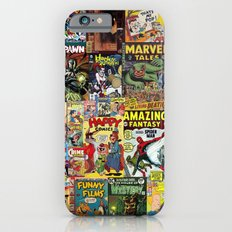 Comic Book Cover Collage iPhone 6 Slim Case