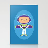 Space Ranger Stationery Cards