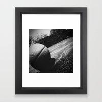 Basketball III Framed Art Print