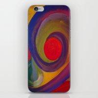 Swirlie iPhone & iPod Skin