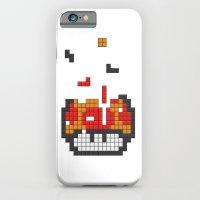 Super Mario Mushroom Tetris iPhone 6 Slim Case