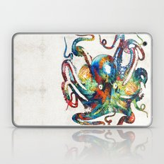 Colorful Octopus Art By … Laptop & iPad Skin