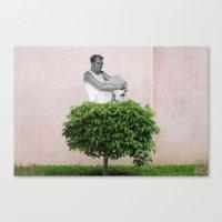 Emmanuel Bove @ Bécon-les-Bruyères Canvas Print