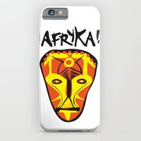 iPhone & iPod Case featuring Afryka! by Rilke Guillén