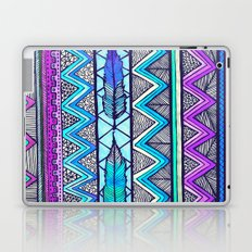 Two Feathers (color version 3) Laptop & iPad Skin