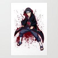 Itachi Uchiha  Art Print