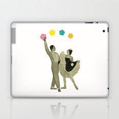 Throwing Shapes on the Dance Floor Laptop & iPad Skin