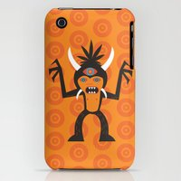 iPhone Cases featuring 3rd Eye Monster by Awesome