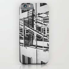stairs black iPhone 6 Slim Case