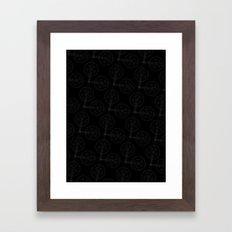 Cranks (Dark) Framed Art Print
