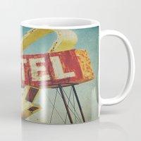Thrashed Motel Sign Mug