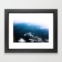 In Waves Framed Art Print