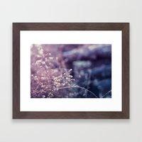 Blustered Framed Art Print