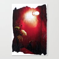 The Red Room Canvas Print
