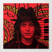Jack White, We're Going … Canvas Print