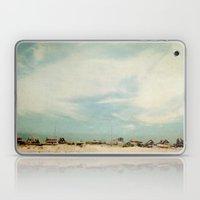 Sleepy Beach Town #2 Laptop & iPad Skin