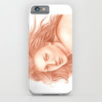 Woman Portrait 3 iPhone 6 Slim Case