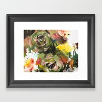 flower arrangement 6 Framed Art Print