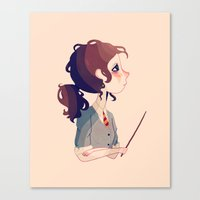 The Brightest Witch Of H… Canvas Print