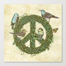 Peace Talks Canvas Print