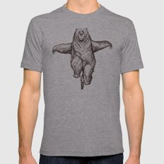Balance Mens Fitted Tee Athletic Grey SMALL