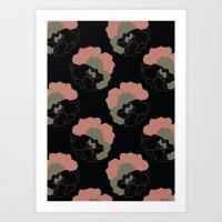 Pansy Flower Garden Art Print