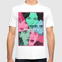 Breakfast Club Colors Mens Fitted Tee White SMALL