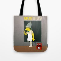 coupling up (accouplés) Moe-bius Tote Bag