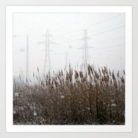 The Last Snowfall Art Print