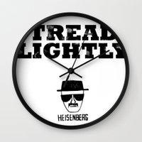 Breaking Bad - Tread Lightly - Heisenberg Wall Clock