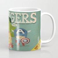 avengers fan art Mug