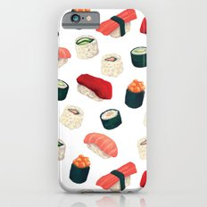 Sushi Pattern Slim Case iPhone 6s