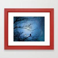 Silent Snow Framed Art Print
