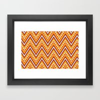 I Heart Patterns #014 Framed Art Print