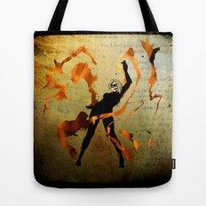 flame dancer Tote Bag