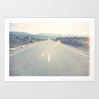 Roads I Art Print
