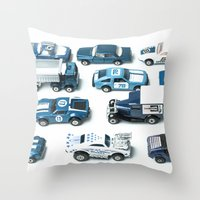 Its A Parking Lot Out Th… Throw Pillow