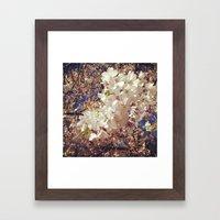 Spring pink Framed Art Print