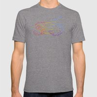 S6 Light-Painted Mens Fitted Tee Tri-Grey SMALL