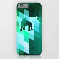 iPhone & iPod Case featuring Emerald Elephant by Dnzsea
