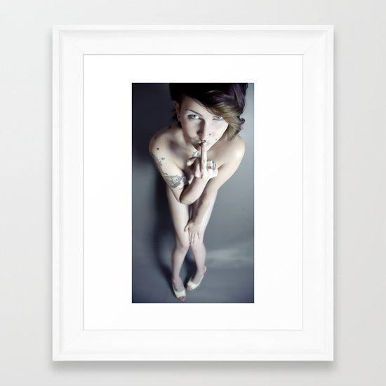 Cool Nude Framed Art Print
