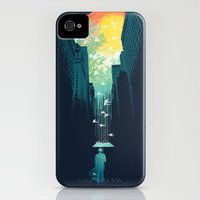 iPhone Cases featuring I Want My Blue Sky by Budi Kwan